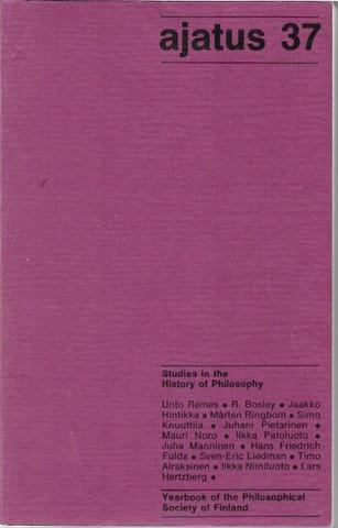 Ajatus : filosofisen yhdistyksen vuosikirja XXXVII