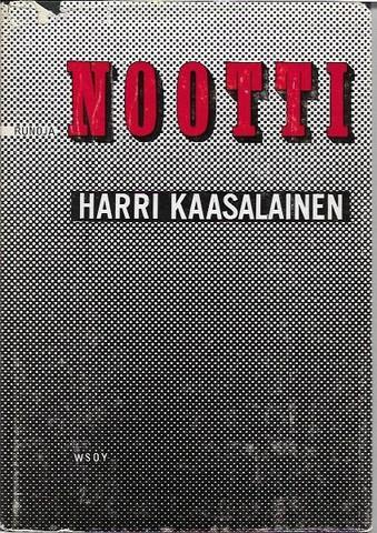 Kaasalainen, Harri: Nootti. Runoja