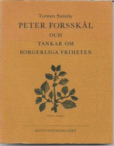 Steinby, Torsten: Peter Forsskål och Tankar om borgerliga friheten