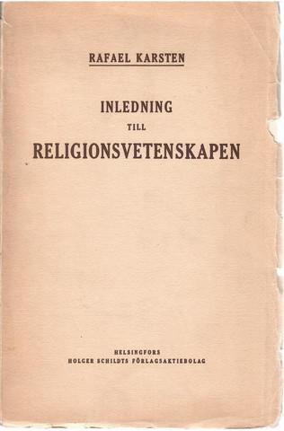 Karsten, Rafael: Inledning till religionsvetenskapen