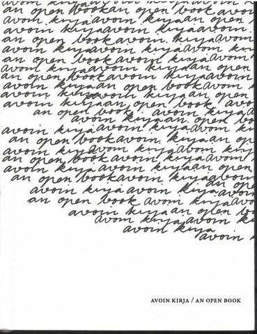 Hauki, Nina:  Avoin kirja : An open book