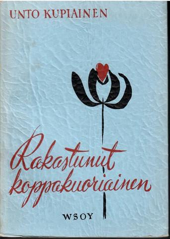 Kupiainen, Unto: Rakastunut koppakuoriainen : runoja