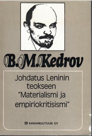 Kedrov, B. M: Johdatus Leninin teokseen