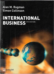 Alan M. Rugman, Simon Collinson: International Business
