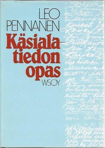 Pennanen, Leo: Käsialatiedon opas