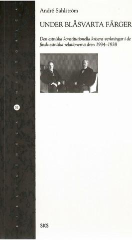 Sahlström, André: Under blåsvarta färger