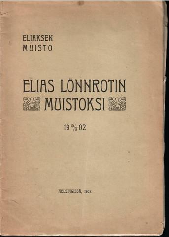 Forsgren, Eemil (toim.): Eliaksen muisto, 19 10/X 02