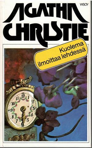 Christie, Agatha: Kuolema ilmoittaa lehdessä