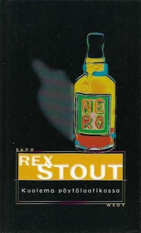Stout, Rex: Kuolema pöytälaatikossa, Sapo 404