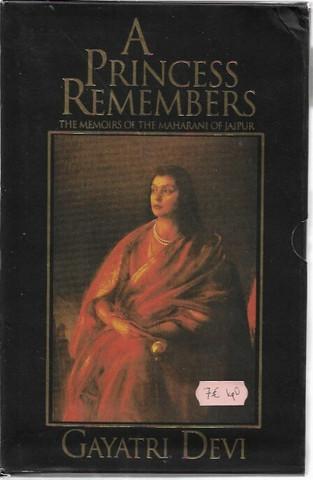 Devi, Gayatri: A Princess Remembers