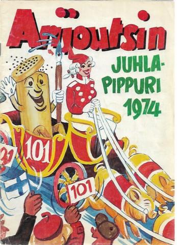 Arijoutsi: Arijoutsin Juhlapippuri 1974