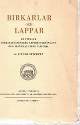 Steckzén, Birger: Birkarlar Och Lappar