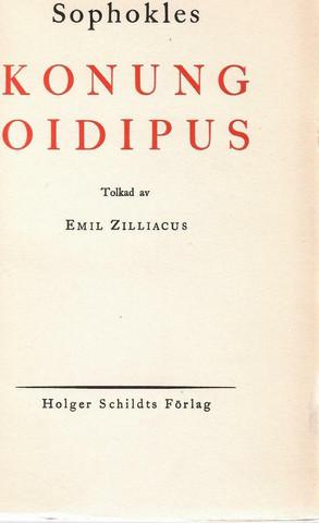 Sofokles: Konung Oidipus