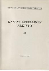 Kansantieteellinen arkisto 18
