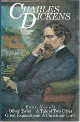 Dickens Charles: Four Novels: Oliver Twist. A Tale of Two Cities. Great Expectations. A Christmas Carol