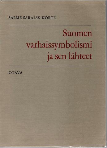 Sarajas-Korte, Salme: Suomen varhaissymbolismi ja sen lähteet