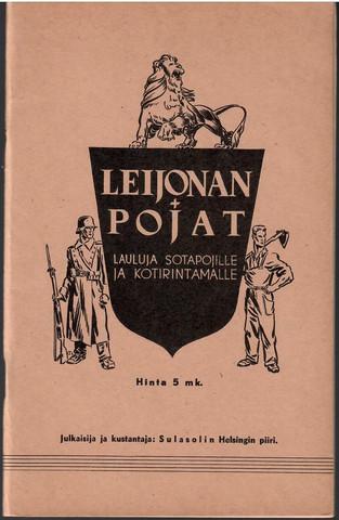 Rautavaara, Toivo (toim.): Leijonan pojat :