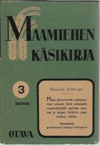 Poijärvi, Ilmari (päätoim.): Maamiehen käsikirja