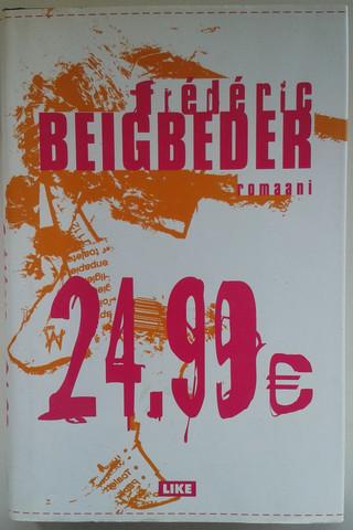 Beigbeder, Frédéric: 24,99€