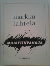 Lahtela, Markku: Muistiinpanoja