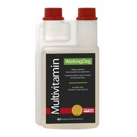 WorkingDog multivitamiini, 500ml PÄIVÄYS: 16.10.2019