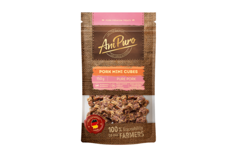 AniPuro Pork mini cubes 150g
