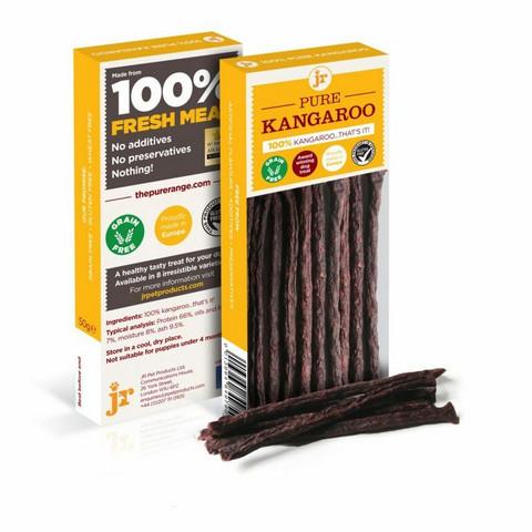JR Pet Meat Sticks kengurutikku, 50g