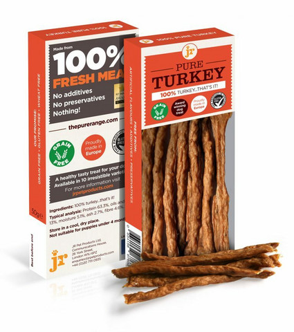 JR Pet Meat Sticks kalkkunatikku, 50g