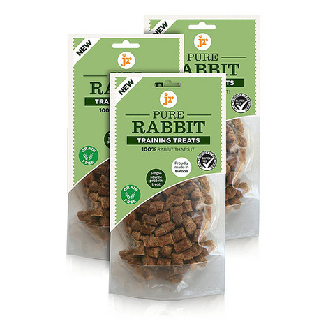 JR Pet Training Treats Jänis, 85g