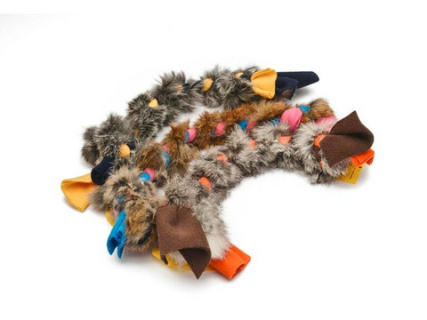 Fleecelelu kaninkarvalla 40cm