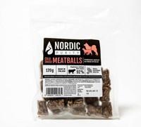 Nordic Purity kylmäkuivatut lihapullat 120 g