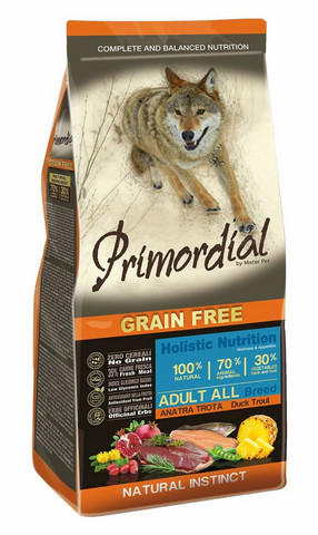 Primordial Taimen-ankka, grain free 2kg