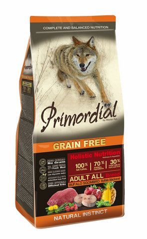 Primordial buffalo-makrilli, grain free 2kg