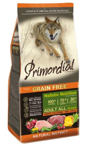Primordial peura-kalkkuna, grain free 2kg