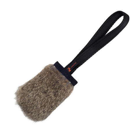 Tug-e-nuff - Rabbit Skin Pocket Squeaker