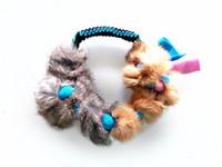 Fleecelelu jäniksen karvalla, rengas