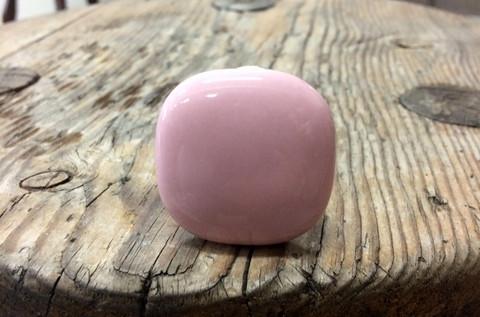 Keraaminen vedin, vetonuppi, vaaleanpunainen