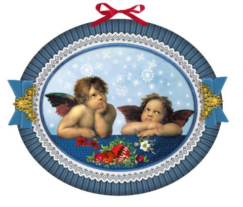 Suuri enkeli joulukalenteri