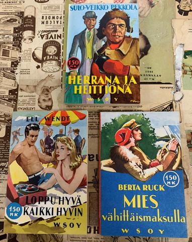 WSOY:n pehmeäkantiset kirjat, 1958-1960