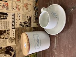 Pentikin Halla-sarjan tiivis, kannellinen kahvipurkki