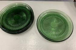 Vihreä Barokki lautanen, Erkki-Tapio Siiroinen, Riihimäean lasi