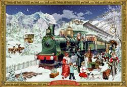 Suuri vanhanajan joulukalenteri: Napapiirin pikajuna, Coppenrath