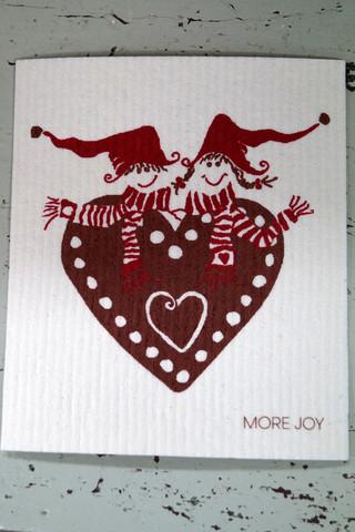 More Joyn siivousliina, tiskirätti, erilaisia joulu