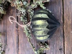 Chick Antiquen upean vihreä lasipallo