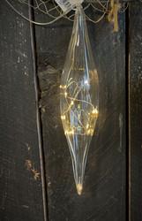Suuri lasipisara led-valoilla, Weiste
