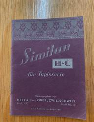 Vanha käsityökirja: Similan fur Tapisserie