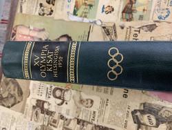 Olympiakisat Helsingissä 1952, toim. Sulo Kolkka, nahkaselkäinen