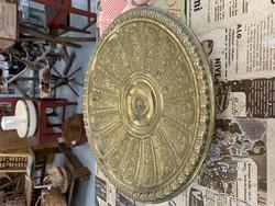 Upea jallallinen messinkikulho, antiikkia