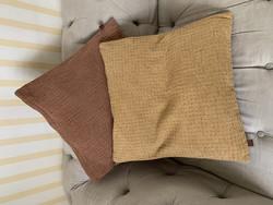 Jean d'Arc Livingin vohvelikankainen tyynynpäällinen 50x50 cm, 2 väriä
