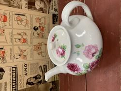 Arabian suloinen, ruusukuvioinen teekannu, APA piippuleima v.1917-1927